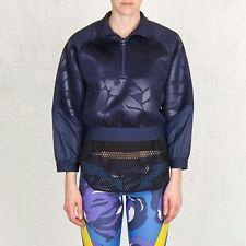 Adidas Stella McCartney Ejecutar Sudadera De en relieve-medio