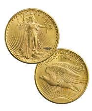 1908-1933 Random Date With Motto $20 Gold Saint Gaudens About Unc (AU) SKU35691