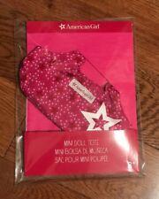 American girl mini doll tote NEW