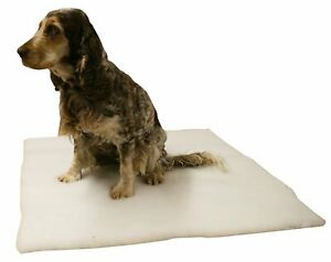 Self Heating Pet Pad Non Slip Backing Soft Faux Fur Thermal With Washable Cover