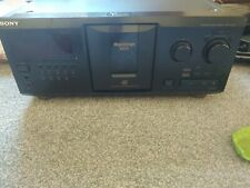 SONY MEGA STORAGE CDP-CX355-330 DISC CD CHANGER JUKE BOX.
