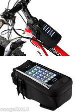 Bolsa y Funda para Movil y Herramientas en Cuadro de Bicicleta Impermeable 3017
