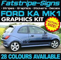 FORD KA MK1 GRAPHICS STRIPES STICKERS DECALS CAR VINYL ST ZETEC STREET SPORT 1.3
