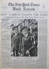 Norway Fights Germans - Myklebost - Simians Gorilla Hooton January 31 1943