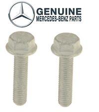 Set of 2 Cylinder Head Bolts Genuine 910105008014 For Mercedes C230 E320 SLK350