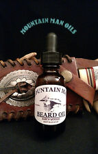 MOUNTAIN MAN OILS Beard Oil BIRCHWOODS  (root beer scent)100% NATURAL ORGANIC