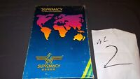 Supremacy Board Game Of Superpowers COMPLETE open box #2