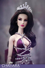 Premium Diamond Crown Tiara  Fashion Royalty Beauty Dolls Barbie
