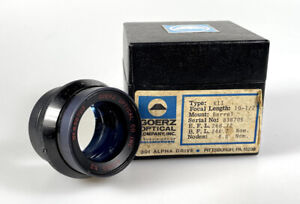 "C P Goerz AM Opt Co 10 1/2"" f6.8 Kenro K2 Dagor Large Format Process Lens"