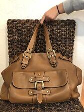 """""""J&M DAVIDSON"""" Women's Leather Handbag Brown Excellent Condition.!!"""