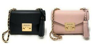 Michael Kors Rose Small Mini Crossbody Leather Handbag