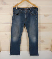 Denizen Levi's 285 Men's Size 34 x 32 (Actual 34 x 30 ) Relaxed Fit Jeans Blue