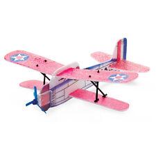 aereoplanino biplano in poliestere lunghezza 20 cm
