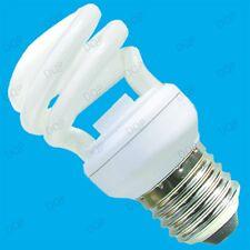 9W Low Energy Power Saving CFL Mini Spiral Light Bulb ES Screw E27 Lamp / Globe