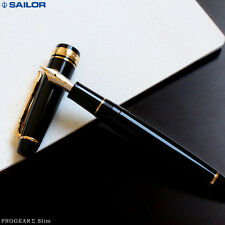 SAILOR PRO.GEAR Σ SIGMA SERIES 11-1517 SLIM NOIR PLUME OR 14 CARATS GOLD 14K