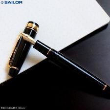 SAILOR PRO.GEAR Σ SIGMA SERIES 11-1517 SLIM NOIR PLUME OR 14 CARATS GOLD 14K