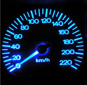 Blue LED Dash Gauge Light Kit - Suit Toyota Hilux Surf 1988-1998