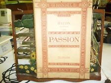 Music.The Passion. Haydn. Novell's Original Octavo.