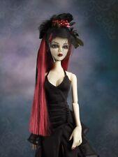 Boîte d'origine jamais ouverte Soirée Rose Chapeau & Perruque Set pour Evangeline épouvantable & Friends 226-152