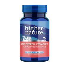 Higher Nature Rosso dello sterolo complessi < BR > 90 verdure schede