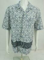 Vintage OP Ocean Pacific Men's Button Up Short Sleeves Shirt L