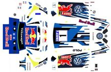 #1 RED BULL VW Kafer Group 5 1/64th HO Scale Slot Car Decals