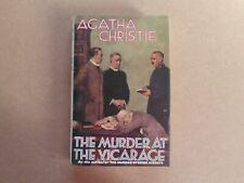 CRIME CLUB AGATHA CHRISTIE MODERN FACSIMILIE BOOK HB ~ MURDER AT VICARAGE