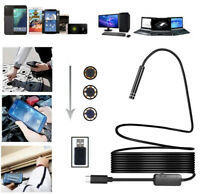 8mm Type-C 2.0MP HD Endoscope Borescope Inspection Camera For Phone/Laptop/PC