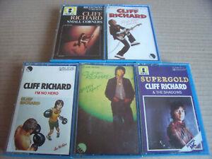 5 x Cliff Richard - Green Light, I'm No Hero, Small Corners, Rock'N' Roll Juveni