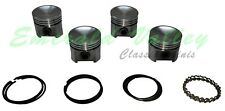Classic Mini 1275 New 4 Piston Set Size 020 with 8.8 to 1 CR