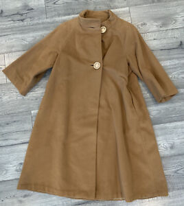 Vintage 1960s Vicuna Womens Overcoat