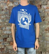 O'neill Casual Short Sleeve Contest Supreme Fit T-Shirt New - Blue - Size: M