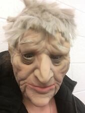Old Man Mask Realistic OAP Creepy Latex Disguise Halloween Fancy Dress Grandad