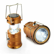 Solar/Rechargeable 6-W Led Light Lantern Lamp Inbuilt Mobile USB Power Bank-G85
