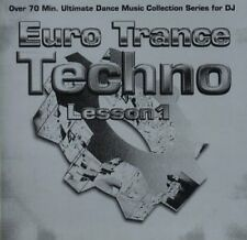 Euro transe techno Lesson 1 space riderz, maître wong, nuit sonore, phase IV... (2