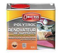POLYTROL 0.5L RENOVATEUR GEL-COAT, PLASTIQUE ET INOX