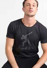 Puma Usain Bolt evostripe-Print Camiseta Negro Talla Xxl Nuevo Con Etiqueta