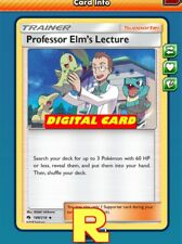 Professor Elm's Lecture - for Pokemon TCG Online (ptcgo in Game Card)