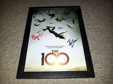 "THE 100 PP SIGNED & FRAMED 12X8"" PHOTO POSTER ELIZA TAYLOR BOB MORLEY"