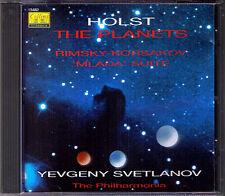 SVETLANOV HOLST The Planets RIMSKY-KORSAKOV Mlada COLLINS CD Evgeny Die Planeten