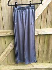 Youth Adidas Gray Mesh 3 Stripe Long Pants Sz M NWOT