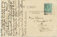 "GB ""RICE-LANE / LIVERPOOL"" rare Squared Circle Postmark (Cohen Type 2nd I SC)"