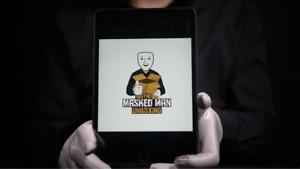 Apple iPad Mini 5th Gen 7.9-inch 256GB WiFi + Cellular Grey - 'The Masked Man'