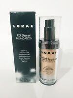 Lot of 2! LORAC POREfection Foundation 1.12 oz / 33 ml PR3 light beige NIB!