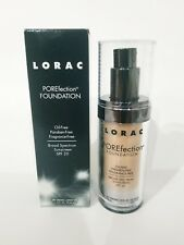 1 LORAC POREfection Foundation 1.12 oz / 33 ml PR3 light beige New In Box!!