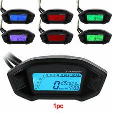 Universal LCD Digital Motorcycle Speedometer Odometer Motorbike Tachometer Kmh