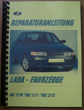 Reparaturanleitung Reparaturhandbuch Lada 2110 2111 2112 (110 -112) Niva