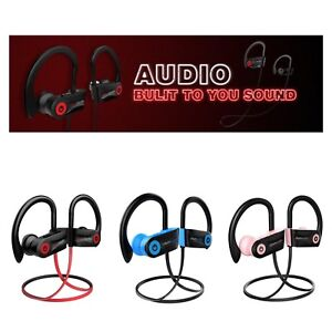 Bluetooth Headphones Otium Best Wireless Sports Earphones Mic IPX7 Waterproof