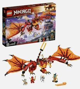 LEGO NINJAGO Legacy Fire Dragon Attack 71753 Building Kit 563 Pieces FREE SHIP