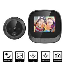 2.4-inch Screen Digital Door Viewer Peephole Camera Doorbell IR Night Vision